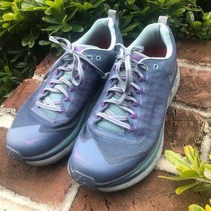 Hoka Challenger ATR 4 trail running shoes size 9